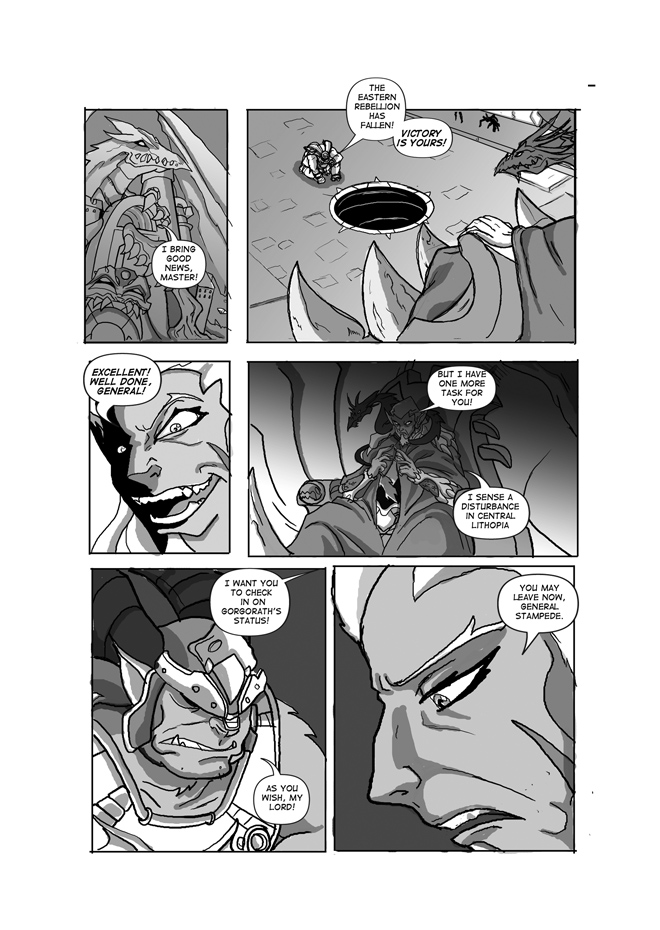 Issue 03, Page 08, Dragos' Order