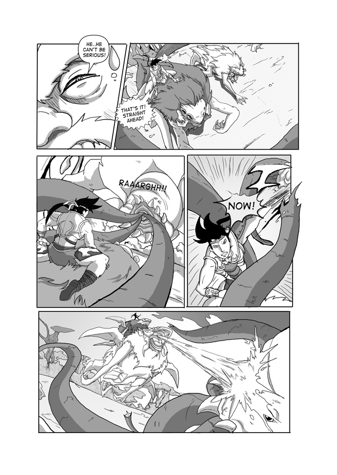 Issue 03, Page 37,Surprise Counter Attack!