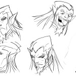 dragosheadsketches