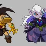 Xeus & Dragos Chibified