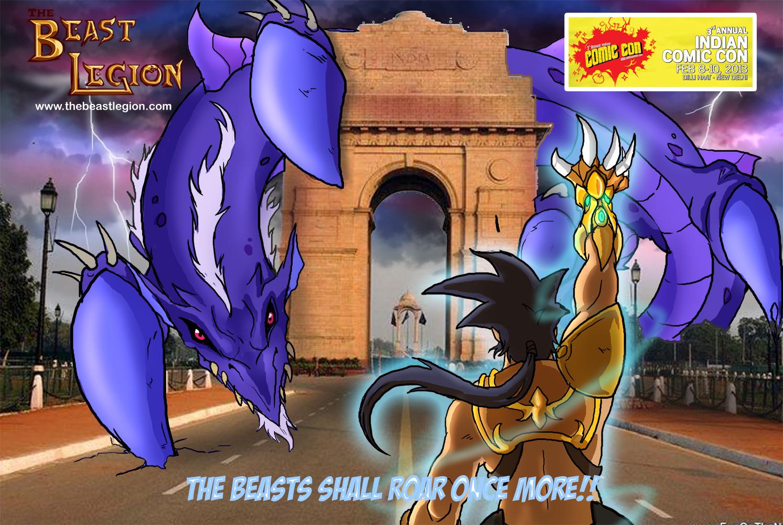 Comic Con India 2013 poster