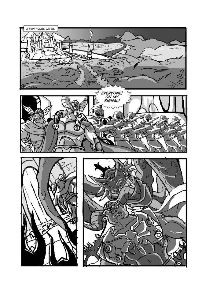 Page 28,On The Verge of Battle