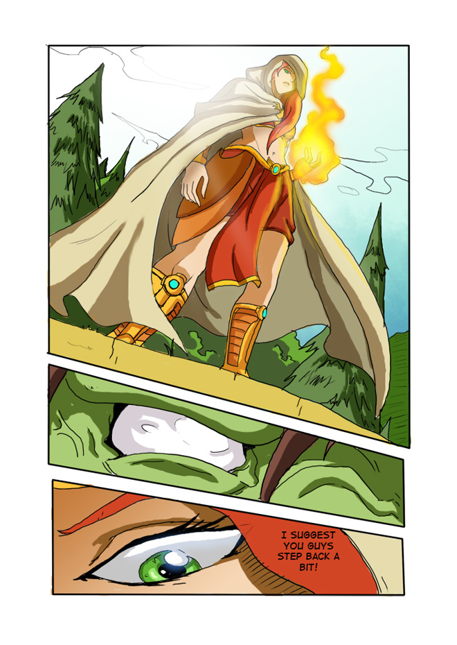 Issue 07, Page 9, Her Power