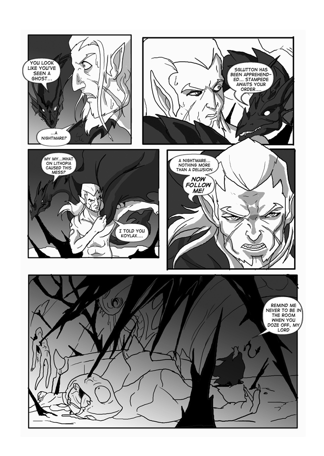 Issue 10, Page 38, Koylax Intervenes